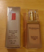 Elizabeth Arden Flawless Finish Perfectly Satin Makeup DISCONTINUED Crea... - $36.47