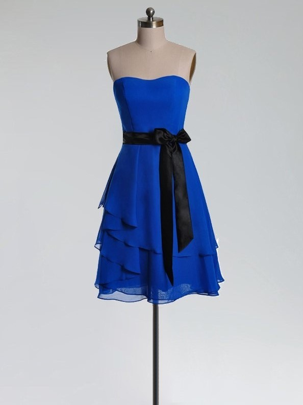 royal blue short party dresses for juniors prom dresses