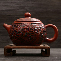 Handmade Model Premium Dragon Teapot Tea Pot Clay Sets - $30.95