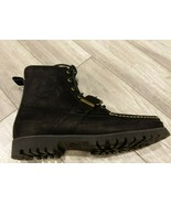 Polo Ralph Lauren Country Ranger Boots Black Grain Leather Men's  - $99.00