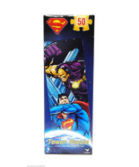 "DC Comics Superman Jigsaw PuzzleTower 50 Pieces 5"" x 18.8"" New - $6.99"