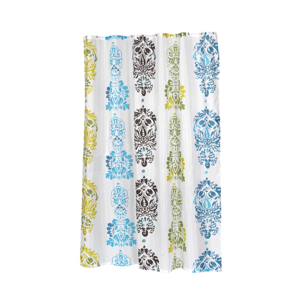 ... Long Olivia Fabric Shower Curtain 1301-FSCXL-OLI - Shower Curtains