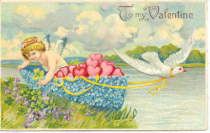 Primary image for To My Valentine a Vintage Post Card