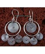 Sterling Silver Bali Spiral Earrings SE-169-DG - $26.00
