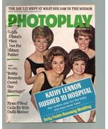 Photoplay-Lennon Sisters-Bobby Kennedy-Sally Field-Ryan O'Neal-12/1968 - $31.53