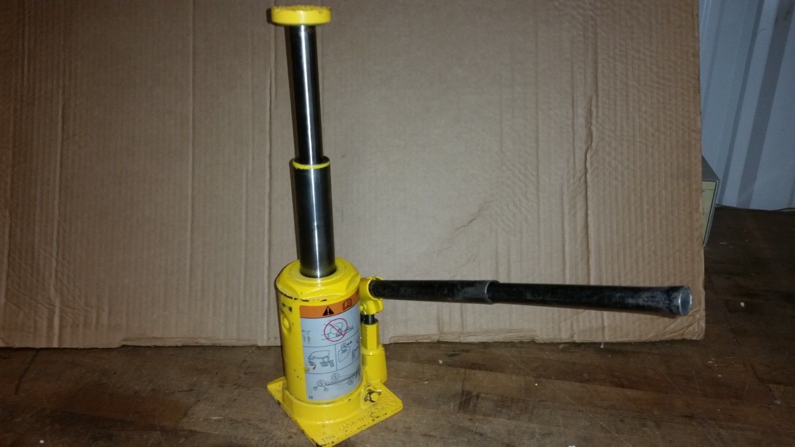 4 ton hydraulic bottle jack OEM Ford F-350 truck 2 stage lift 6C34-17080-BA