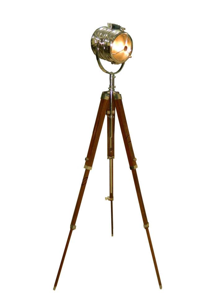 HOLLYWOOD STUDIO FLOOR LAMP - 1940's Hand Made Replica