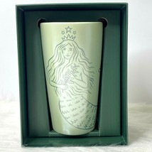 Starbucks Limited Edition Siren Ceramic Tumbler Mug 50th Anniversary Box... - $49.49