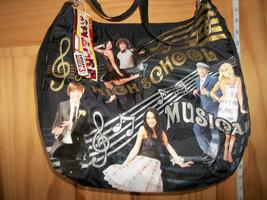 Disney Girl Accessory Purse High School Musical Handbag Black Gold Note ... - $14.24