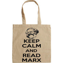 KARL MARX KEEP CALM AND READ - NEW AMAZING GRAPHIC HAND BAG/TOTE BAG - $23.60