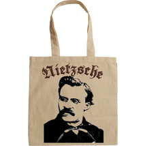 FRIEDRICH NIETZSCHE QUOTE - NEW AMAZING GRAPHIC HAND BAG/TOTE BAG - $17.19