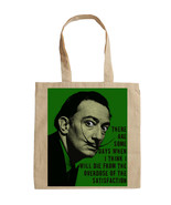 SALVADOR DALI POP ART  - NEW AMAZING GRAPHIC HAND BAG/TOTE BAG - $24.16