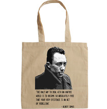 ALBERT CAMUS QUOTE - NEW AMAZING GRAPHIC HAND BAG/TOTE BAG - $23.60