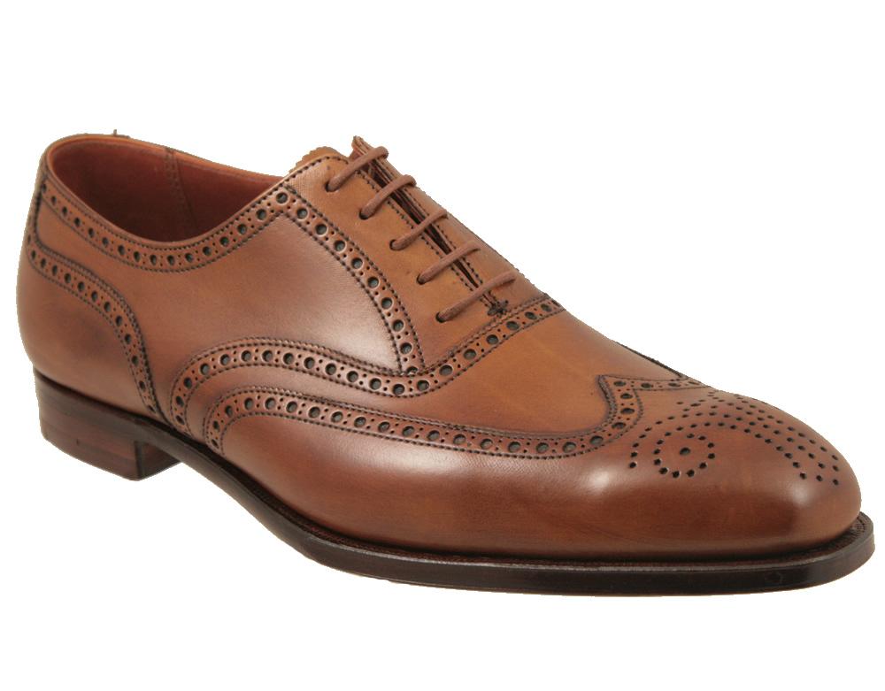 Handmade Mens Broge Wingtip Dress Shoes Men Leather Shoes