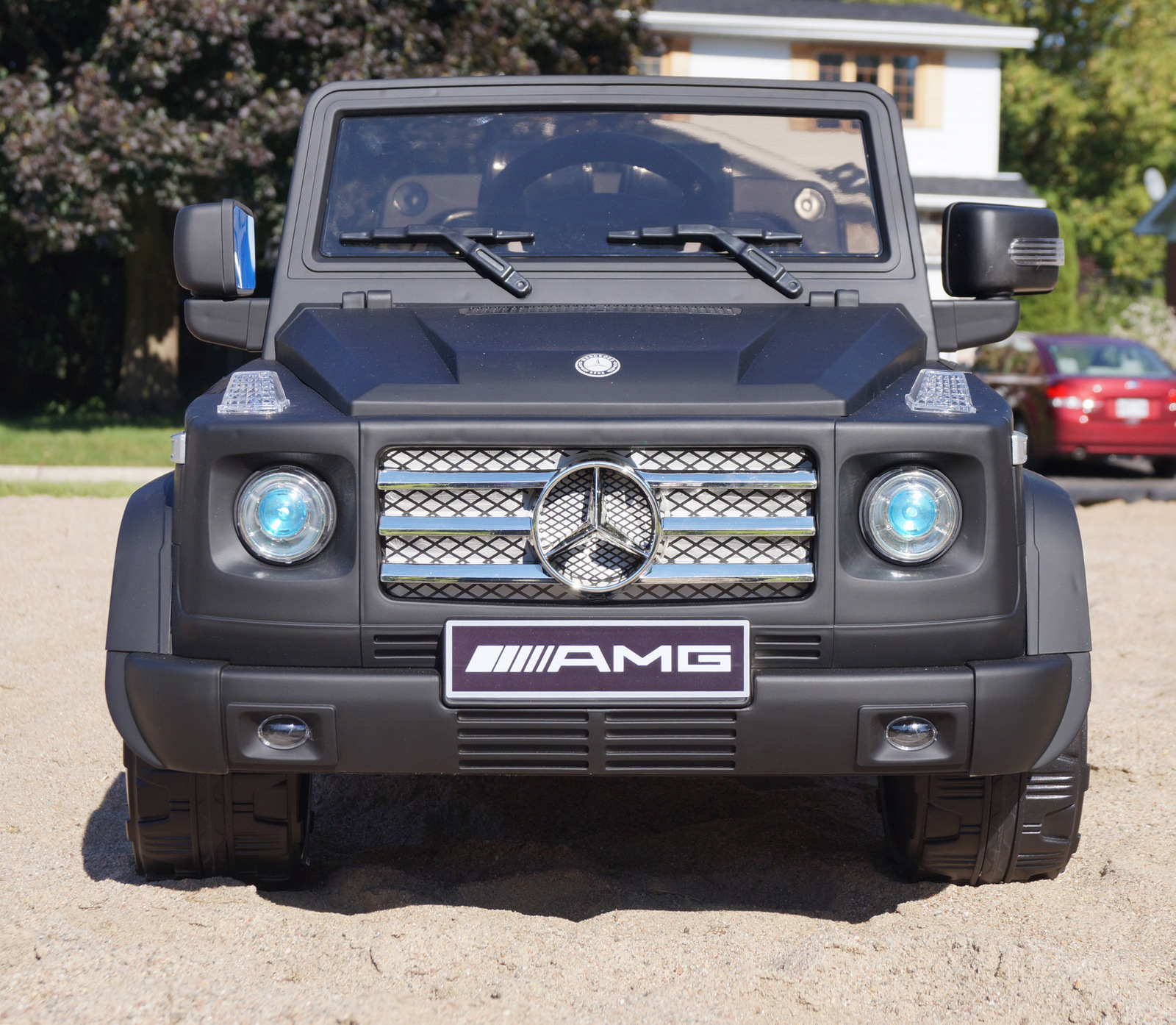 Mercedes Benz G55 Amg 2 Seat Kids Ride On Battery Powered