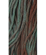 Dragonfly (0960) 6 strand hand-dyed cotton flos... - $2.15