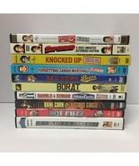 Comedy Dvd Lot Of 10 Borat Knocked Up Superbad - $7.99