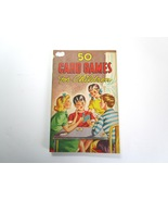 50 Card Games for Children by Vernon Quinn -1946 Softcover-US Playing Ca... - $7.99