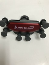 Bomxy cell Phone holder Car Mount RED car cradle air vent - $3.95