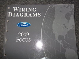 2009 Ford Focus Electrical Wiring Diagrams Service Shop Manual Ewd Oem 09 Book X - $49.45