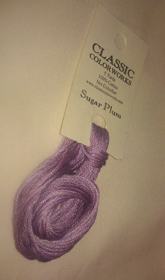 Sugar Plum (CCT-237) strand hand-dyed cotton floss Classic Colorworks