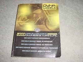 2000 Harley Davidson USED Dyna Models Owner's Manual 99467-001 - $7.13