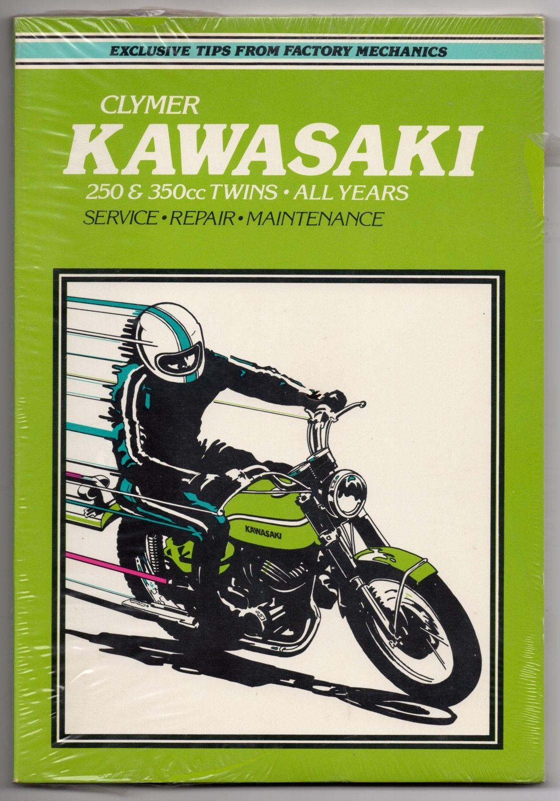 CLYMER KAWASAKI 250 AND 350 TWINS – ALL YEARS SHOP MANUAL-NEW!!!