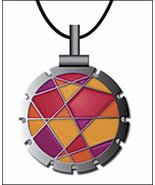 Bohin Jewel Fuschi/Orange Thread Cutter Pendant... - $18.50
