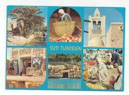 Africa Tunisia Sud Tunisien Multiview Vintage Postcard 4X6  - $4.99