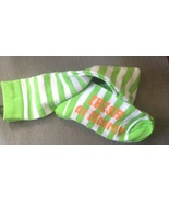 1 Pair Ladies Women's St. Patrick's Day Irish at Heart Socks Over the Kn... - $4.99