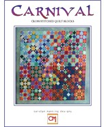 Carnival Quilt Block Collection cross stitch chart CM Designs  - $10.80