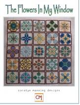 The Flowers In My Window cross stitch chart CM Designs  - $9.90