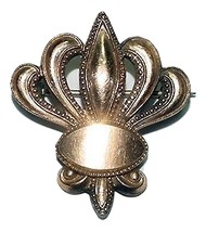 Early Federalist/ Victorian Gold Filled Shield Brooch - $49.95
