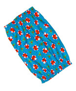 Dog Snood-Jumping Santas Holly Blue Cotton-Christmas-Cavalier-Cocker-Pup... - $9.50