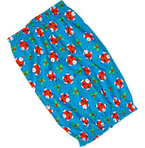 Dog Snood-Jumping Santas Holly Blue Cotton Christmas-Afghan-Setter-Puppy... - $10.50