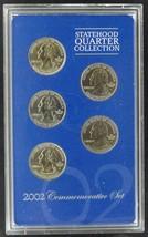 2002 Statehood Quarter Collection Commemorative Set - $7.50