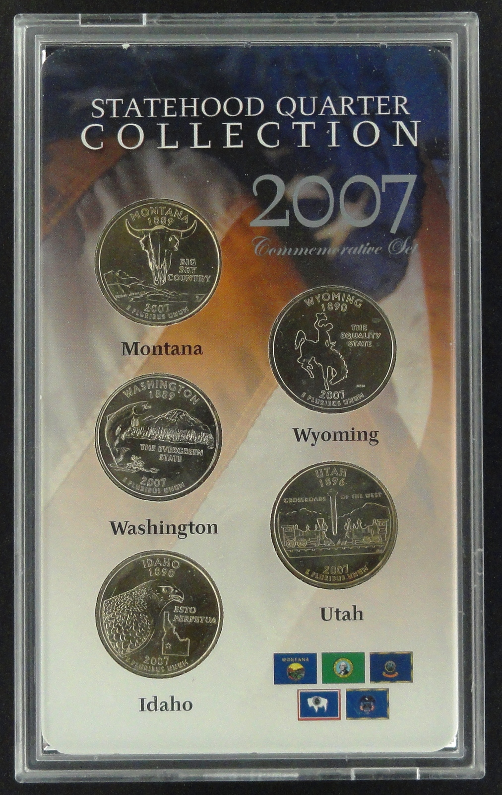 2007 Statehood Quarter Collection Commemorative Set - $7.50