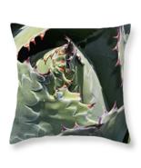Impression, Throw Pillow, seat cushion, fine art photo, cactus, cacti - $41.99+