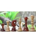 "Barcelona ""Joc Catalan"" ChessSet in Bud Rose Wood & Box Wood - 4.3"" King... - $339.99"