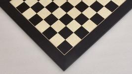"""Wooden Deluxe Black Anigre Maple Matte Finish Chess Board 24"""" - 60 mm-SK... - $327.99"""