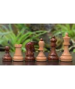 Reproduction 1950 Dubrovnik Bobby Fischer Chess set in Shesham / Box Woo... - $177.99