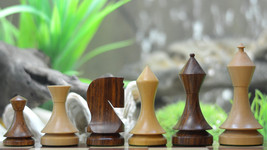 "19th Century Classic Series Chess Set in Sheesham & Box Wood - 4.0"" King S1253 - $129.99"