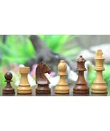 Tournament Staunton Chess set with GermanKnight in Sheesham/Box Wood-3.7... - $97.99