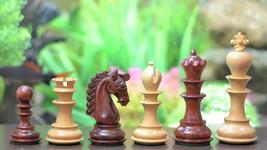 """Hurricane Series Staunton Luxury Chess Set Bud Rose/Box Wood-4.7"""" King S... - $456.99"""