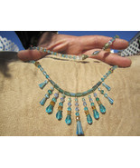 Baby Blue Crystal Choker...Simply  elegant,   - $46.00