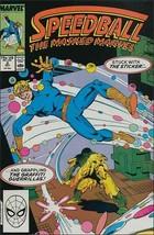 Marvel SPEEDBALL #2 VF+ - $1.29