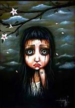 "Angelina Wrona's, "" SAKURA "", 13 x 10 Inch Fine Art Giclee Print - $14.95"