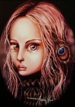 "Angelina Wrona's, "" VISIONARY "", 13 x 10 Inch Fine Art Print - $14.95"