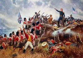 "WAR of 1812, ""BATTLE OF NEW ORLEANS"", 13  x 10 inch GICLEE CANVAS PRINT - $19.95"