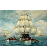 WAR of 1812, British Chasing USS Constitution,... - $19.95